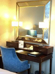 Beautiful desk and mirror