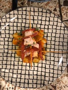Swordfish & Chorizo