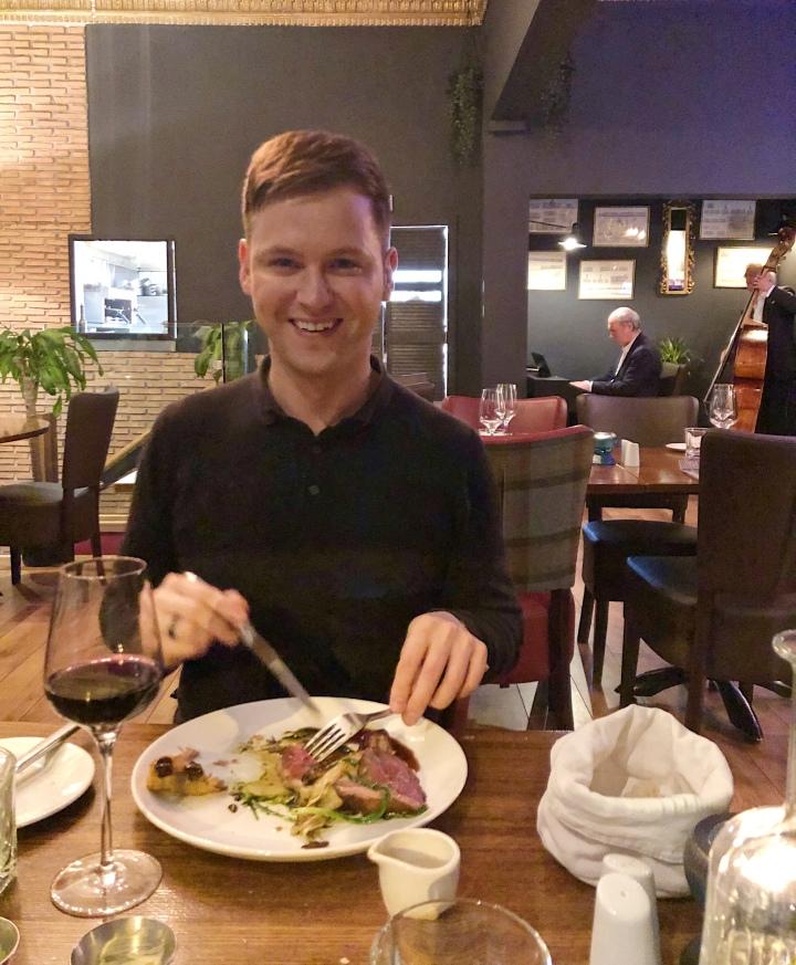 New Chapter Restaurant –Edinburgh