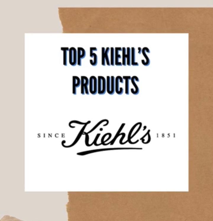 Kiehl's Skincare – Blu Blazer Guy's Top5