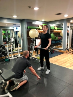 Band Resisted Barbell Curl